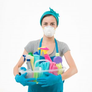 Cleaning can be toxic