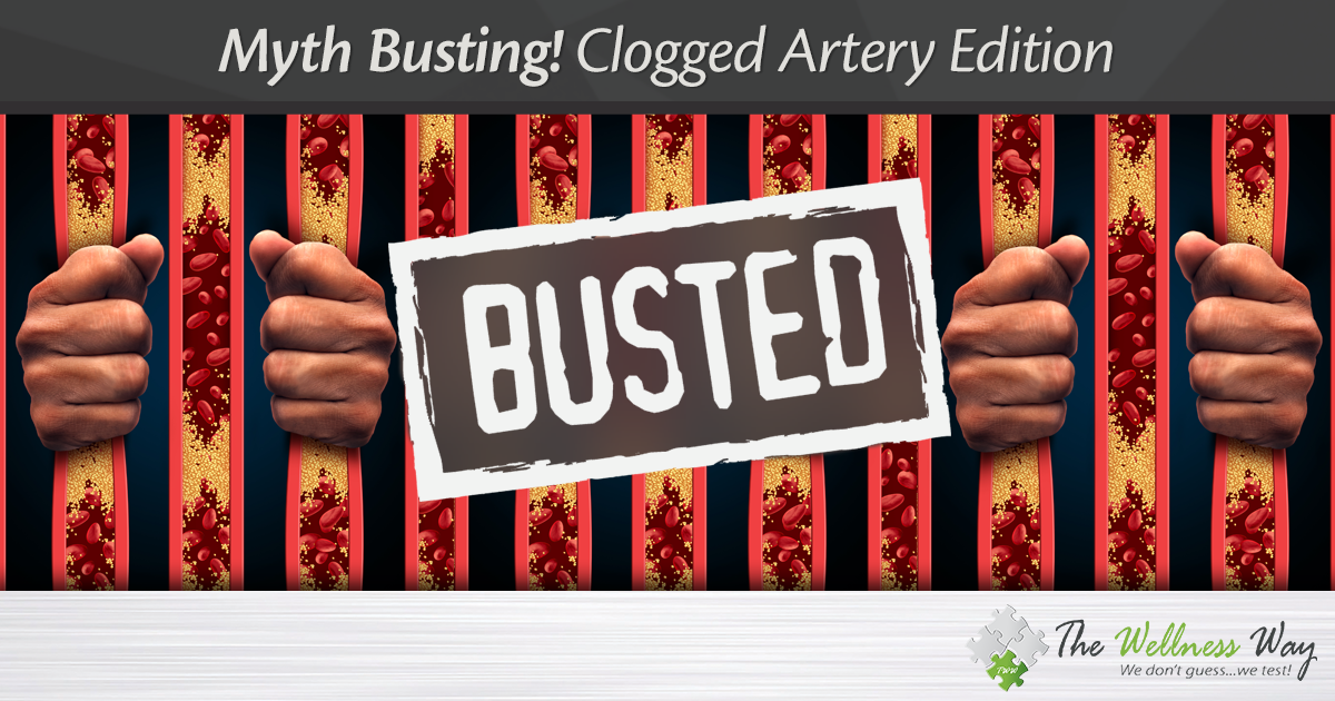 Myth Busting! Clogged Artery Edition