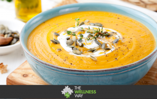 Creamy Carrot Ginger Soup | The Wellness Way