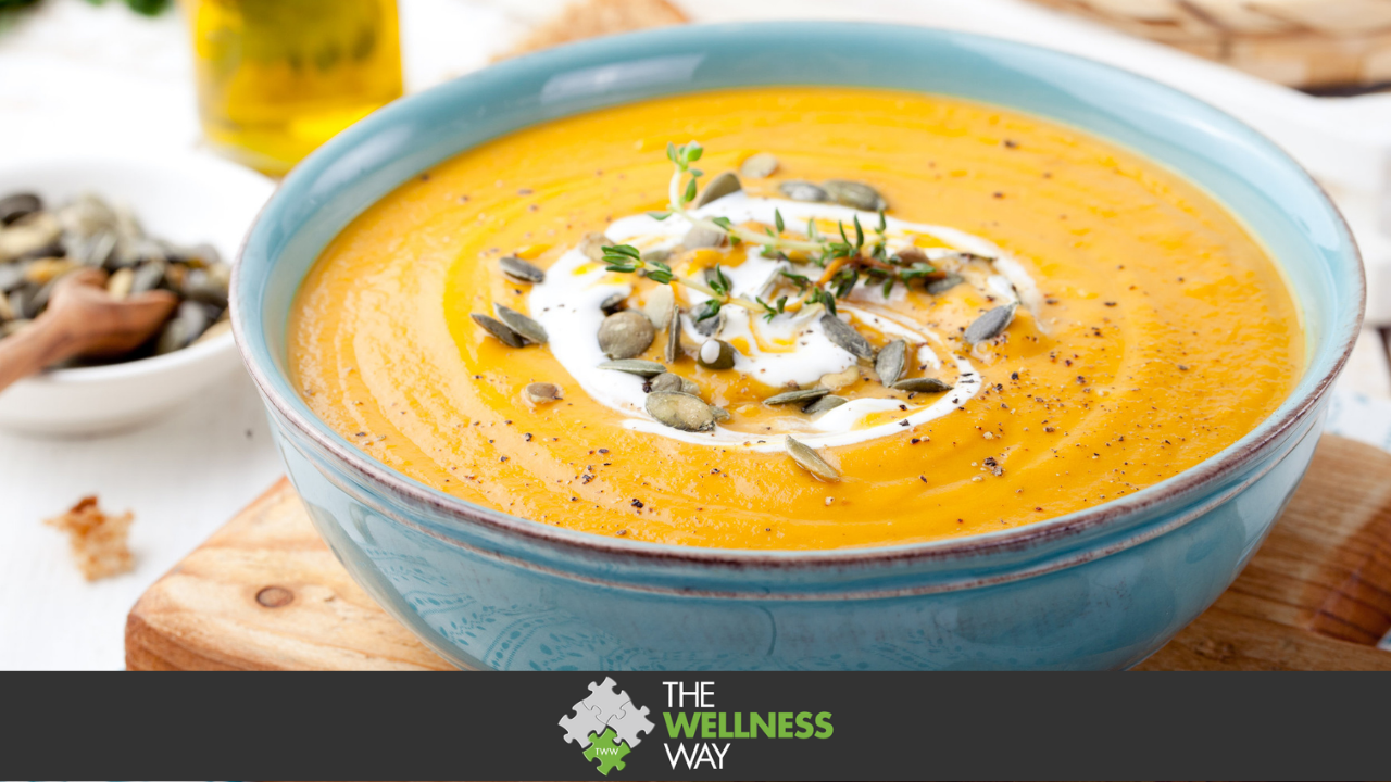 Creamy Carrot Ginger Soup   The Wellness Way